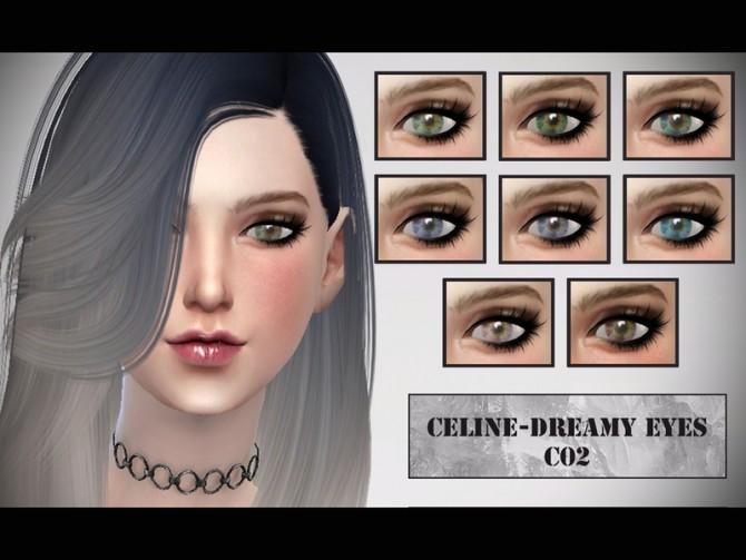 Sims 4 Dreamy Eye Colors by CelineNguyen at TSR