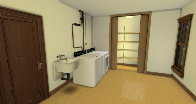 Sims 4 Johnson home at Pandasht Productions