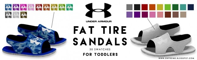 Sandals for Toddlers at Onyx Sims image 1434 670x206 Sims 4 Updates