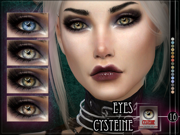 Sims 4 Cysteine Eyes by RemusSirion at TSR