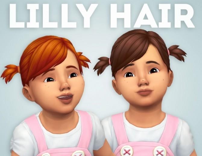 Sims 4 Lilly Hair at Ivo Sims