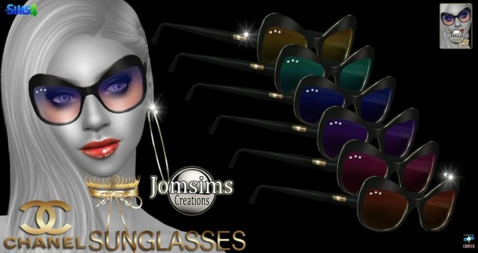 Sunglasses at Jomsims Creations image 146 670x355 Sims 4 Updates