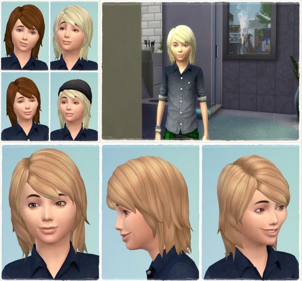 Sims 4 Matze's Hair at Birksches Sims Blog
