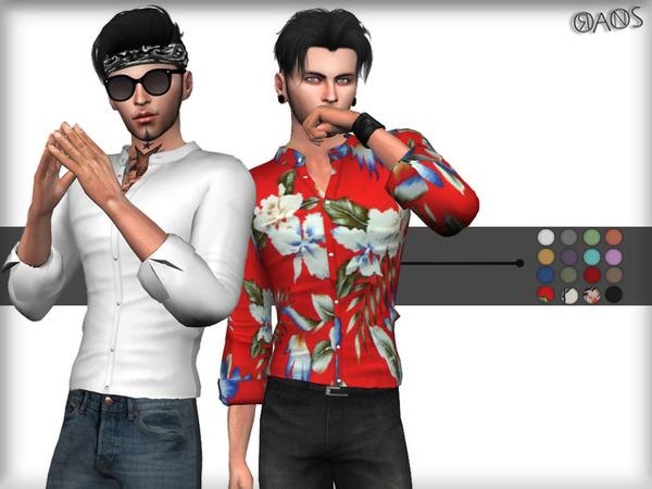 Sims 4 Shirt M by OranosTR at TSR
