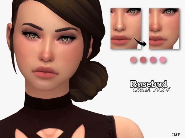 IMF Rosebud Blush N.24 by IzzieMcFire at TSR image 1516 Sims 4 Updates
