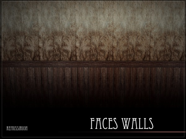 Faces Walls by RemusSirion at TSR image 1518 Sims 4 Updates