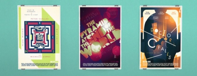 Sims 4 Doctor Who Season 10 posters at Tukete