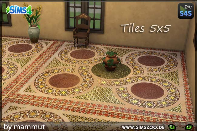 Sims 4 Sicily floor 2 by mammut at Blacky's Sims Zoo