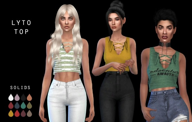 Lyto Top at Leo Sims image 1583 670x424 Sims 4 Updates