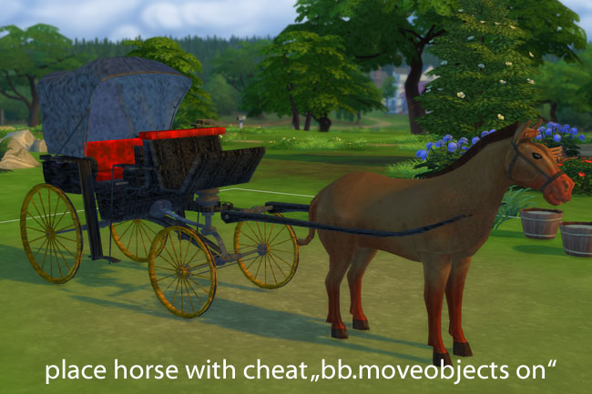 Blackys carriage by mammut at Blacky's Sims Zoo image 1586 Sims 4 Updates