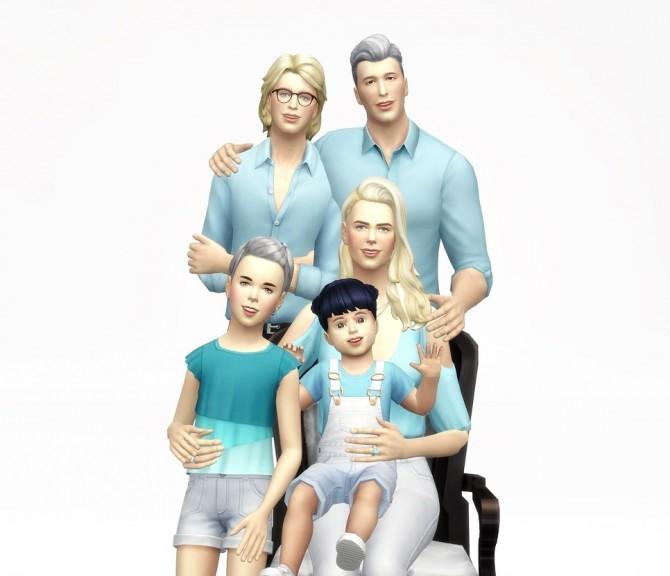 Sims 4 Photo album 3 posepack at Rusty Nail