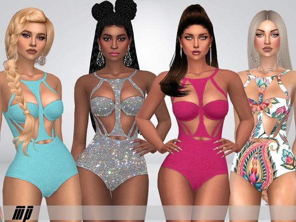 Sims 4 MP Carlas Swimsuit by MartyP at TSR