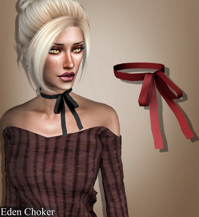 Choker, necklace, septum and earrings at Deep Space image 1614 670x731 Sims 4 Updates