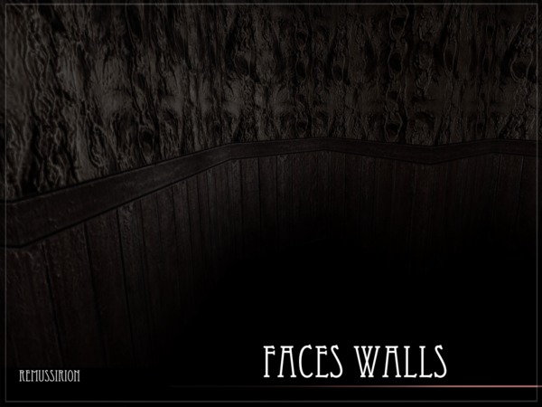 Faces Walls by RemusSirion at TSR image 1617 Sims 4 Updates