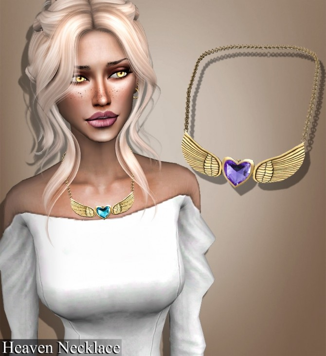 Choker, necklace, septum and earrings at Deep Space image 1622 670x731 Sims 4 Updates
