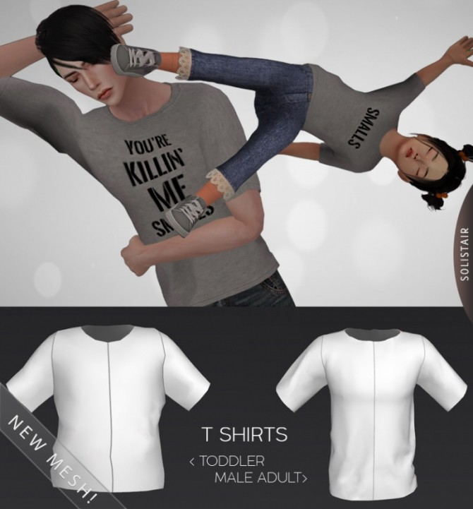 Daddy&Me T Shirts at Solistair image 1639 670x721 Sims 4 Updates