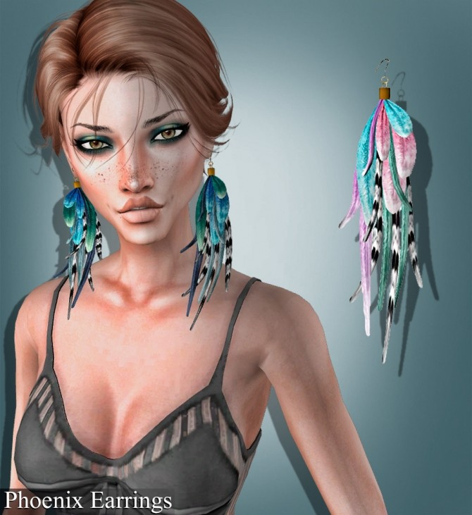 Choker, necklace, septum and earrings at Deep Space image 1642 670x731 Sims 4 Updates