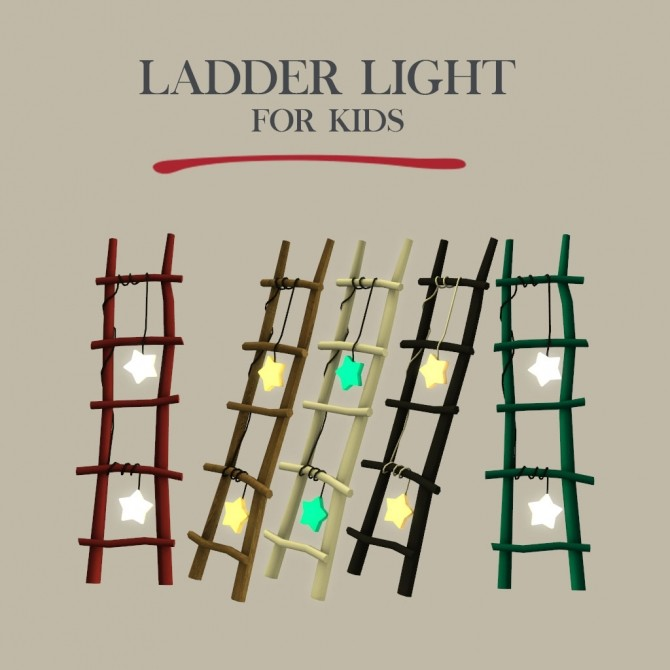 Ladder Light at Leo Sims image 1645 670x670 Sims 4 Updates