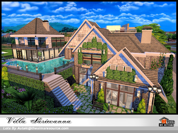 Villa Siriwanna by autaki at TSR image 1649 Sims 4 Updates