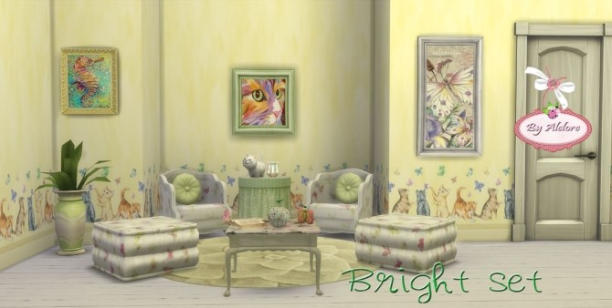 BRIGHT SET at Alelore Sims Blog image 168 670x338 Sims 4 Updates