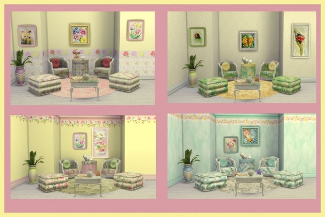 BRIGHT SET at Alelore Sims Blog image 169 670x447 Sims 4 Updates