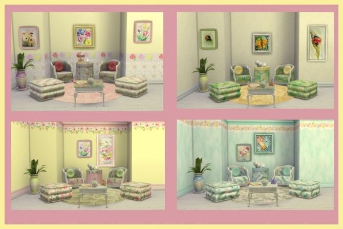 Sims 4 BRIGHT SET at Alelore Sims Blog
