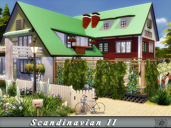 Scandinavian II house by Danuta720 at TSR image 1719 Sims 4 Updates