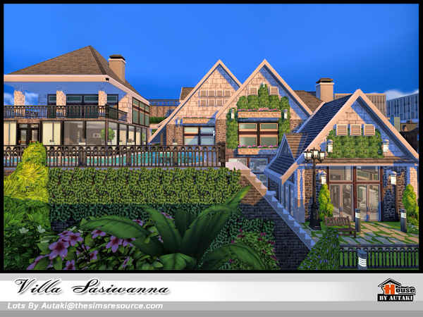 Villa Siriwanna by autaki at TSR image 1740 Sims 4 Updates