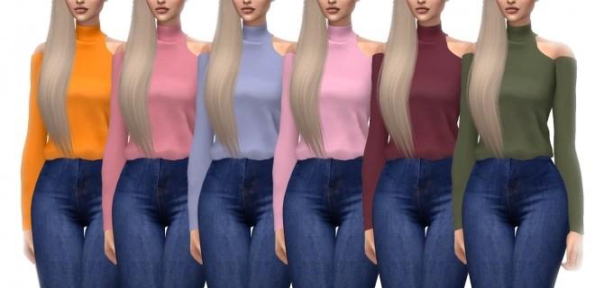 Belaloallure Magnolia Blouse Recolor at Kenzar Sims image 1744 670x320 Sims 4 Updates