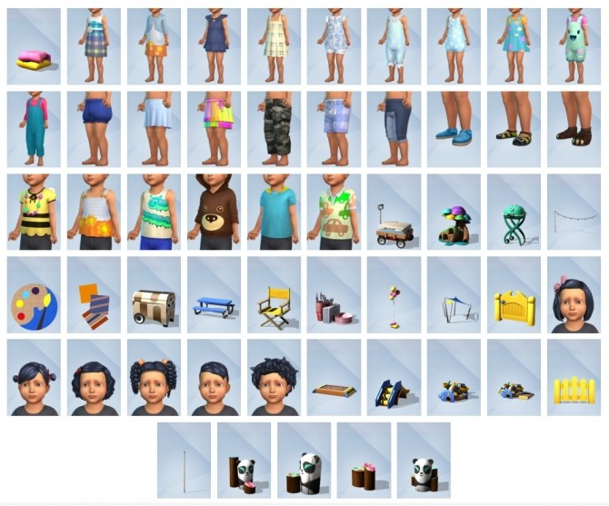 The Sims 4 Toddler Stuff Pack, Out Now! image 1805 670x557 Sims 4 Updates