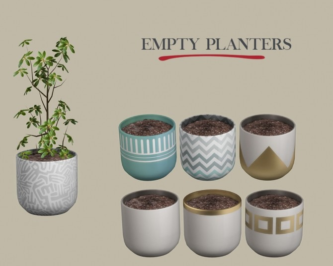 Empty Planter at Leo Sims image 18111 670x536 Sims 4 Updates