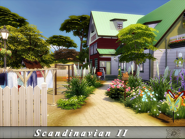 Scandinavian II house by Danuta720 at TSR image 1819 Sims 4 Updates