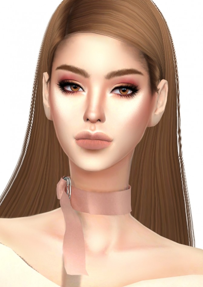 Sims 4 Beauty Palette Rose gold edition eyeshadow at GOPPOLS Me