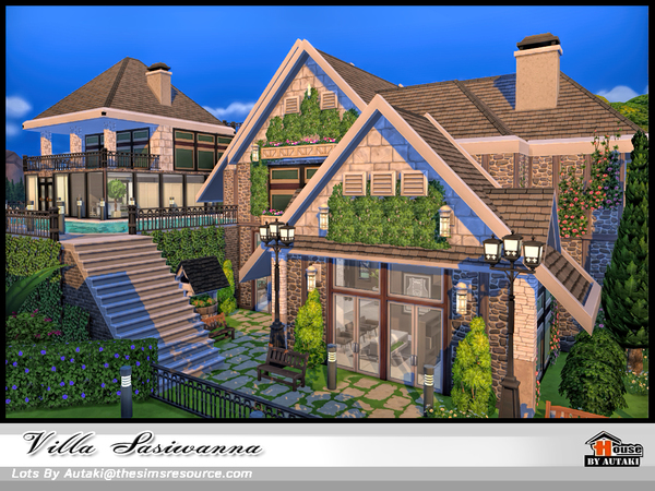 Villa Siriwanna by autaki at TSR image 1839 Sims 4 Updates
