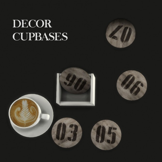 Sims 4 Decor Cupbases at Leo Sims