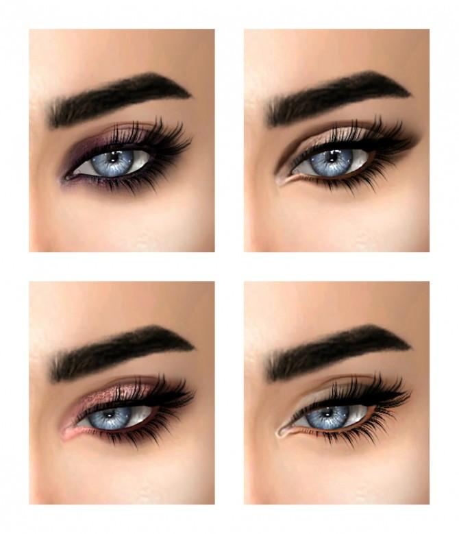 Instagram inspired eyeshadows at Kenzar Sims image 1851 670x779 Sims 4 Updates