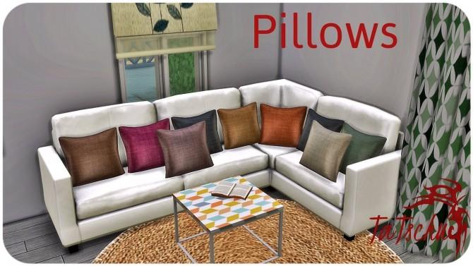 Sims 4 Pillows at TaTschu`s Sims4 CC