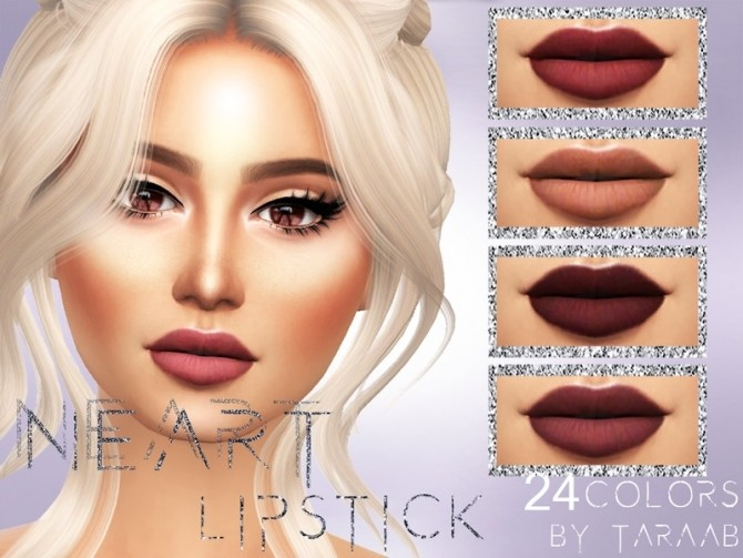 Neart Lipstick by taraab at TSR image 1926 670x503 Sims 4 Updates