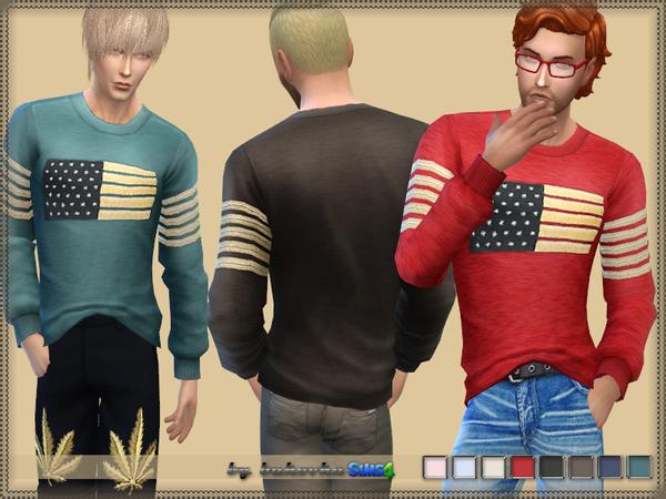 Palm Angels 2 long sleeves t shirt by bukovka at TSR image 1929 Sims 4 Updates