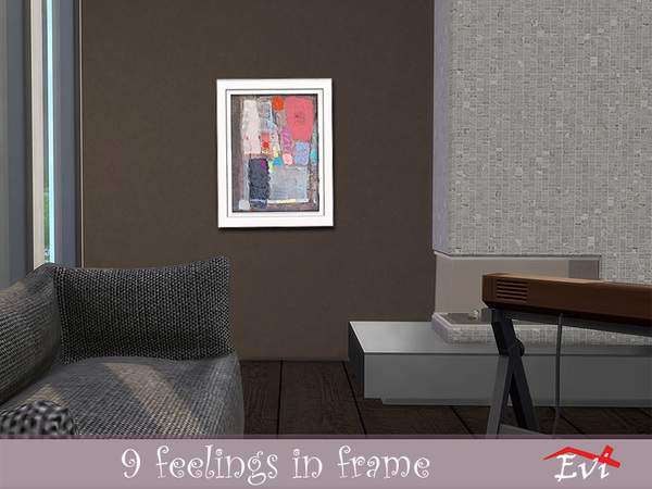 9 feelings in frame by evi at TSR image 1939 Sims 4 Updates