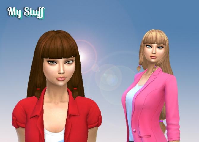 Lila Hair At My Stuff 187 Sims 4 Updates