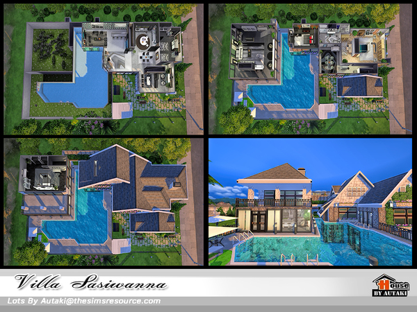 Villa Siriwanna by autaki at TSR image 1940 Sims 4 Updates
