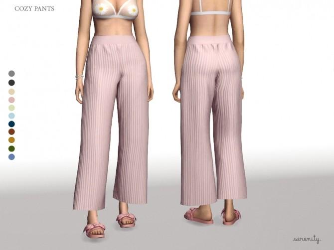 Sims 4 Cozy Pants at SERENITY