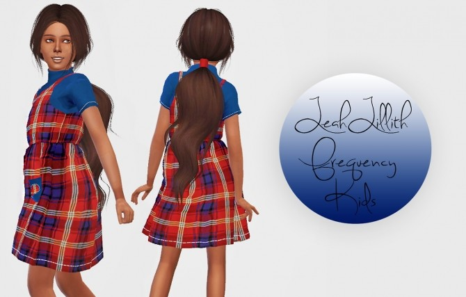Sims 4 LeahLillith Frequency Kids Version at Simiracle