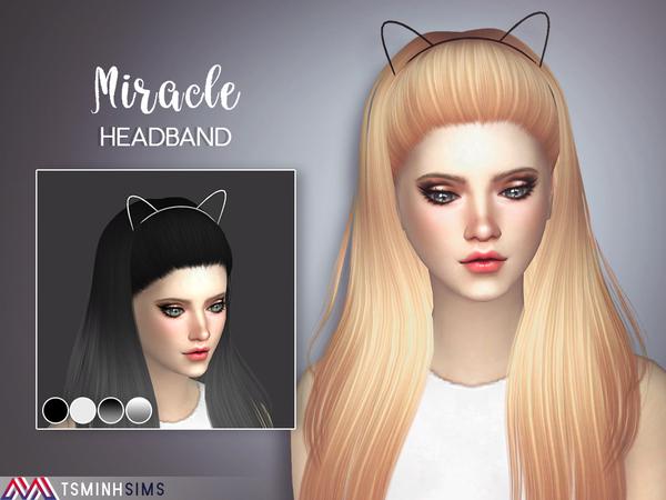 Sims 4 Miracle Hair 40 Set by TsminhSims at TSR