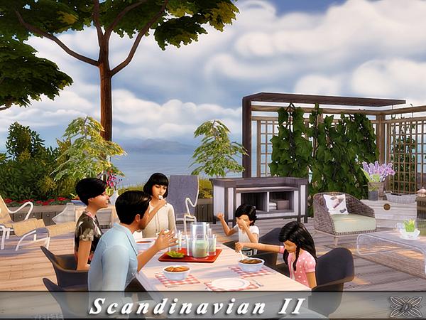 Scandinavian II house by Danuta720 at TSR image 2019 Sims 4 Updates