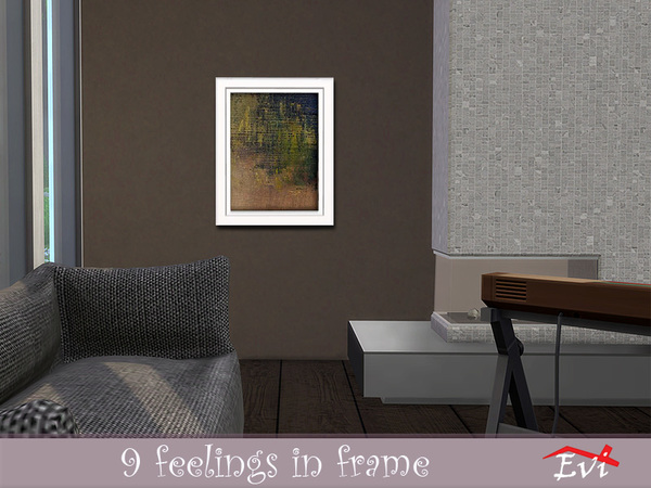 9 feelings in frame by evi at TSR image 2038 Sims 4 Updates