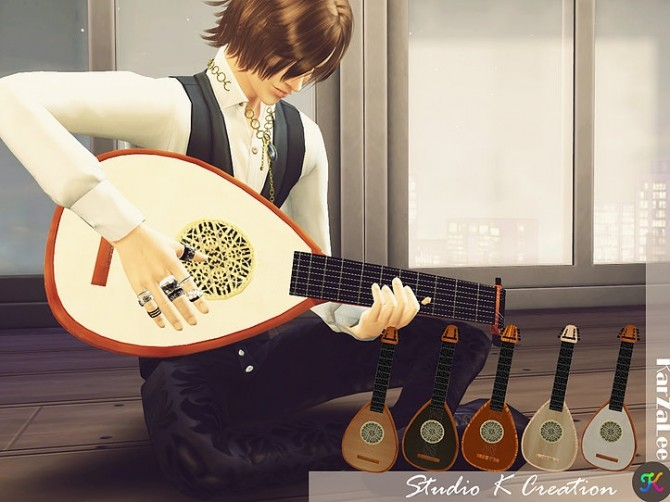 Handle Lute at Studio K Creation image 207 670x502 Sims 4 Updates