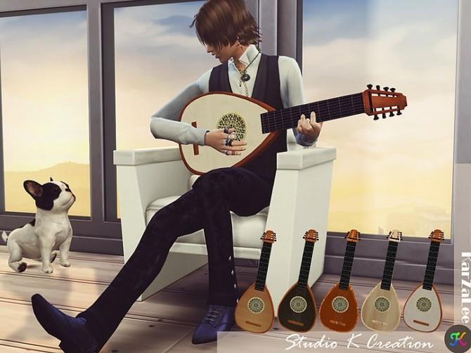 Handle Lute at Studio K Creation image 208 670x502 Sims 4 Updates