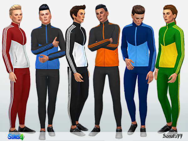 Sims 4 S77 Athletic suit for men 13 by Sonata77 at TSR